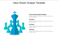 Value Stream Analysis Template Ppt PowerPoint Presentation Professional Files Cpb