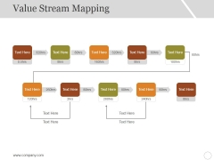 Value Stream Mapping Ppt PowerPoint Presentation Model Slide Download