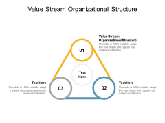 Value Stream Organizational Structure Ppt PowerPoint Presentation Show Inspiration Cpb