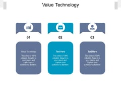 Value Technology Ppt PowerPoint Presentation Professional Introduction Cpb Pdf