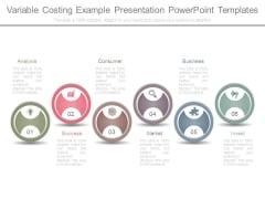 Variable Costing Example Presentation Powerpoint Templates