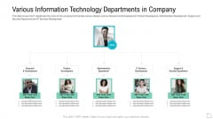 Various Information Technology Departments In Company Formats PDF