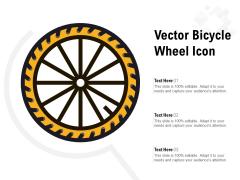 Vector Bicycle Wheel Icon Ppt PowerPoint Presentation Portfolio Layout Ideas