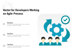 Vector For Developers Working On Agile Process Ppt PowerPoint Presentation Outline Inspiration PDF