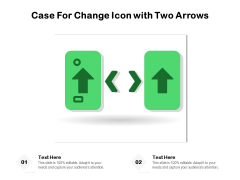 Vector Illustration Of Case For Change Icon Ppt PowerPoint Presentation Gallery Slides PDF