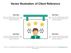 Vector Illustration Of Client Reference Ppt PowerPoint Presentation Show Introduction PDF