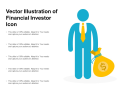 Vector Illustration Of Financial Investor Icon Ppt PowerPoint Presentation Icon Background Images PDF