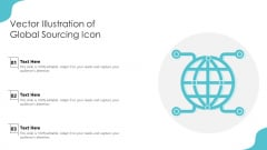 Vector Illustration Of Global Sourcing Icon Ppt Inspiration Outline PDF