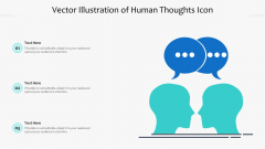 Vector Illustration Of Human Thoughts Icon Ppt PowerPoint Presentation Gallery Themes PDF