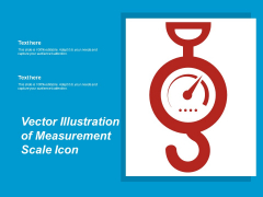 Vector Illustration Of Measurement Scale Icon Ppt PowerPoint Presentation Infographics Influencers PDF
