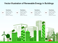 Vector Illustration Of Renewable Energy In Building Ppt PowerPoint Presentation Ideas Graphic Images