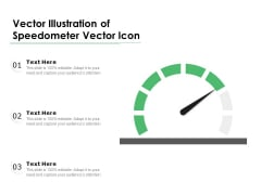 Vector Illustration Of Speedometer Vector Icon Ppt PowerPoint Presentation Ideas Slides PDF