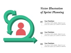 Vector Illustration Of Sprint Planning Ppt PowerPoint Presentation Professional Portrait PDF