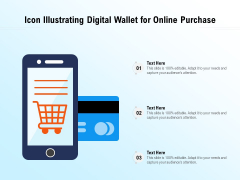 Vector Showing E Wallet For Online Buying Ppt PowerPoint Presentation File Outline PDF
