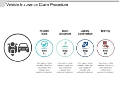 Vehicle Insurance Claim Procedure Ppt Powerpoint Presentation Outline Introduction