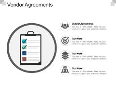 Vendor Agreements Ppt PowerPoint Presentation Summary Design Inspiration