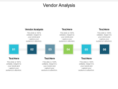 Vendor Analysis Ppt Powerpoint Presentation Summary Skills Cpb