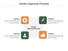 Vendor Approval Process Ppt PowerPoint Presentation Icon Graphics Example Cpb