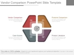 Vendor Comparison Powerpoint Slide Template
