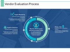 Vendor Evaluation Process Ppt PowerPoint Presentation Professional Backgrounds