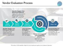 Vendor Evaluation Process Ppt PowerPoint Presentation Slides Graphic Tips