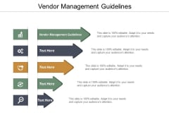 Vendor Management Guidelines Ppt PowerPoint Presentation Model Outline Cpb