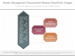 Vendor Management Procurement Module Powerpoint Images