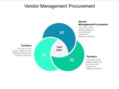 Vendor Management Procurement Ppt PowerPoint Presentation File Design Inspiration Cpb