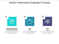 Vendor Performance Evaluation Process Ppt PowerPoint Presentation Outline Graphics Tutorials Cpb
