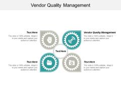 Vendor Quality Management Ppt PowerPoint Presentation Model Graphics Template Cpb