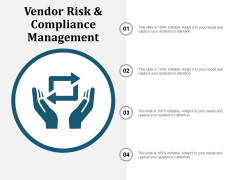 Vendor Risk And Compliance Management Ppt PowerPoint Presentation Gallery Good