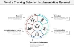 Vendor Tracking Selection Implementation Renewal Ppt PowerPoint Presentation Summary Background Images