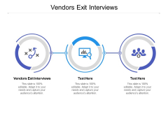 Vendors Exit Interviews Ppt PowerPoint Presentation Pictures Display Cpb