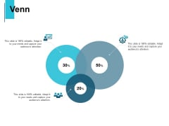 Venn Audiences Attention Ppt PowerPoint Presentation Infographics Deck