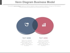 Venn Diagram For Business Deal And Analysis Powerpoint Slides