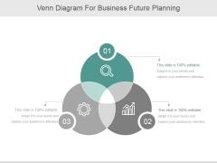 Venn Diagram For Business Future Planning Ppt PowerPoint Presentation Ideas