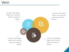 Venn Ppt PowerPoint Presentation Infographic Template Objects