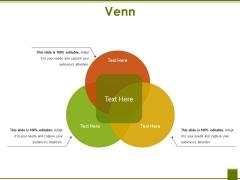 Venn Ppt PowerPoint Presentation Infographics Graphics Tutorials