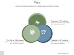 Venn Ppt PowerPoint Presentation Layouts