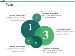 Venn Ppt PowerPoint Presentation Show Template