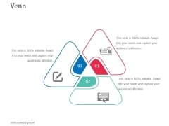 Venn Ppt Powerpoint Presentation Summary Slideshow