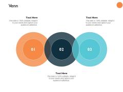 Venn Three Circle Process Ppt PowerPoint Presentation Slides Clipart