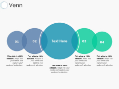 Venn With Five Circle Ppt PowerPoint Presentation Inspiration Guidelines