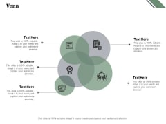 Venn With Five Circles Ppt PowerPoint Presentation Files