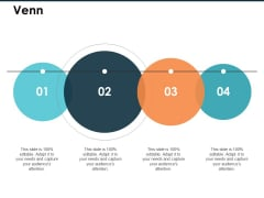 Venn With Four Circles Ppt PowerPoint Presentation Slides Graphics Download