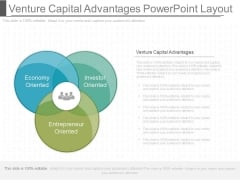 Venture Capital Advantages Powerpoint Layout