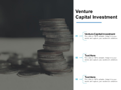 Venture Capital Investment Ppt PowerPoint Presentation Infographic Template Slide Portrait Cpb
