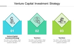 Venture Capital Investment Strategy Ppt PowerPoint Presentation Summary Maker Cpb