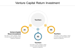 Venture Capital Return Investment Ppt PowerPoint Presentation Pictures Ideas Cpb