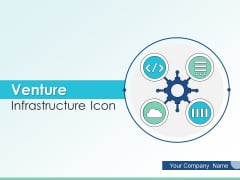 Venture Infrastructure Icon Ecosystem Business Ppt PowerPoint Presentation Complete Deck